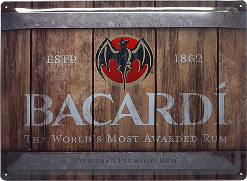 BLECHSCHILD BACARDI