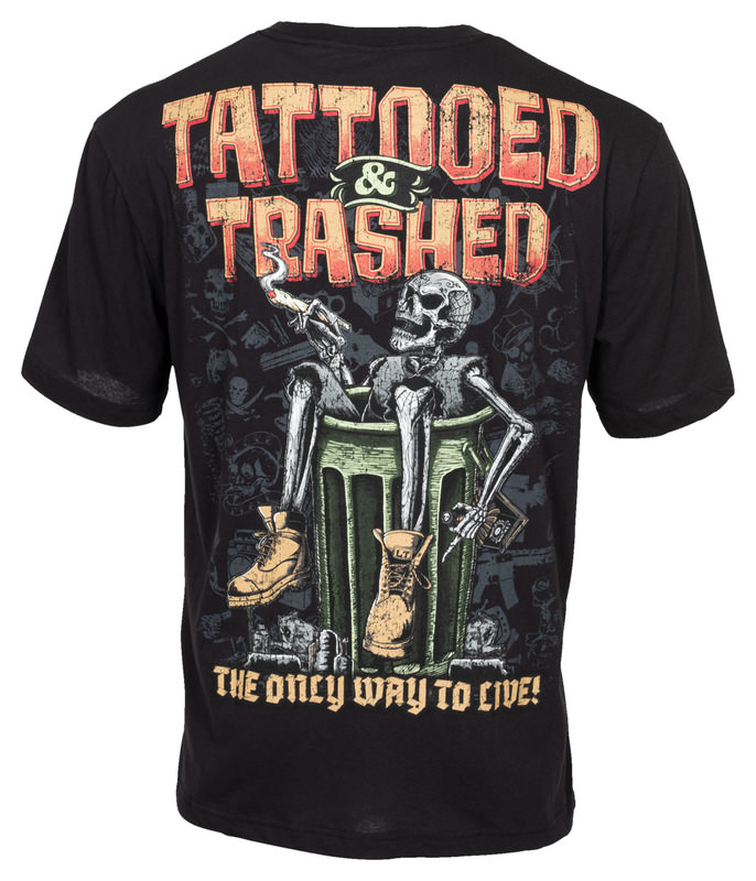 LT TATTOOED AND TRASHED