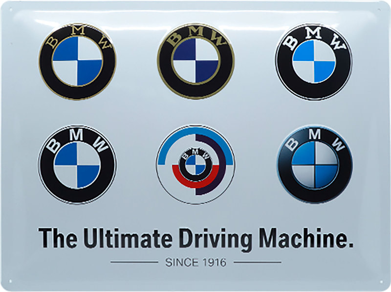 BMW *LOGOS* METAL SIGN
