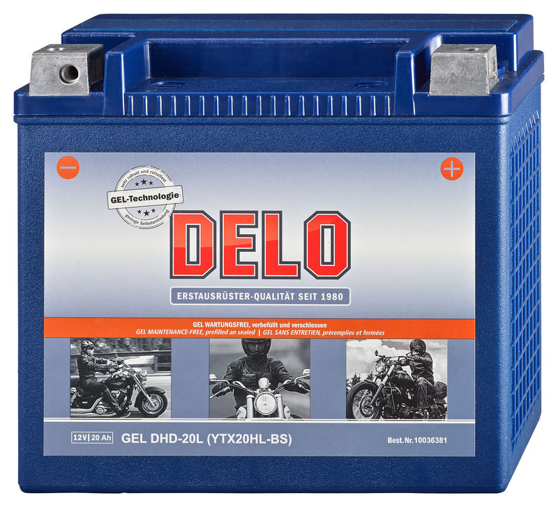 DELO HD GEL-BATTERIE