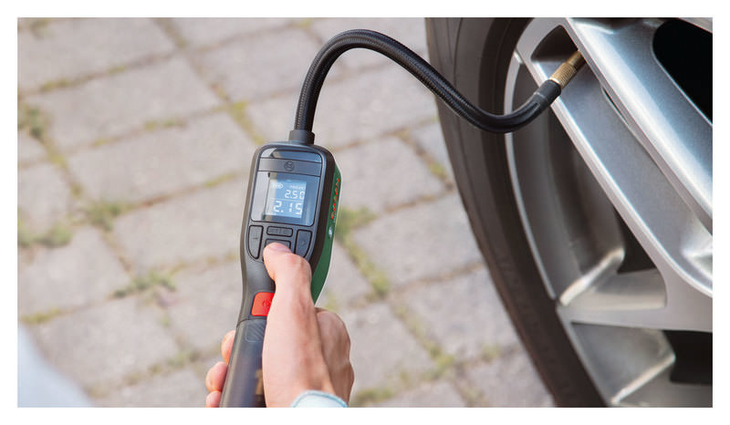 Buy Bosch Cordless Tyre Pump Easypump 3 6v 3ah 10 3 Bar Louis Motorcycle Clothing And Technology