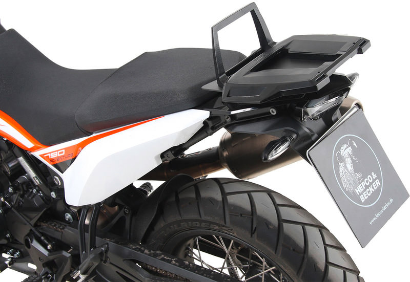2017 Alurack topcase carrier Anthracite BY HEPCO AND BECKER Yamaha MT-09 ab Bj