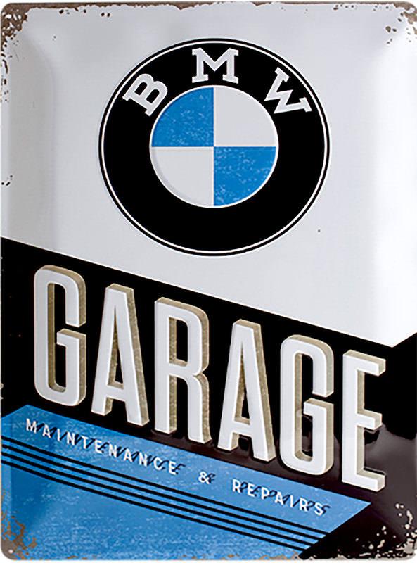 BLECHSCHILD *BMW GARAGE*