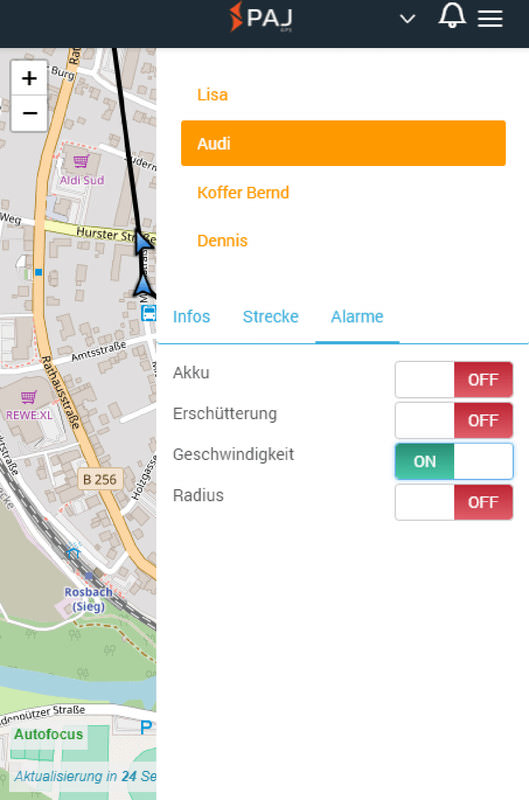 MOTORCYCLE FINDER GPS-