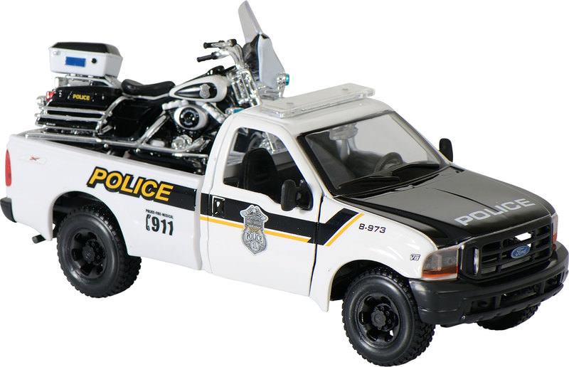 POLICE PICKUP+H+D ELECTRA