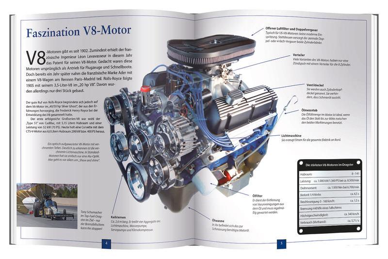 FRANZIS V8-MOTOR