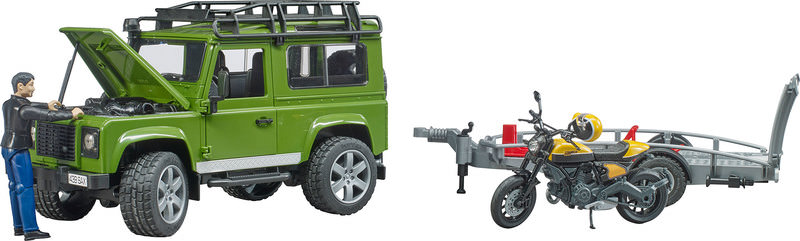 LAND ROVER DEFENDER WITH