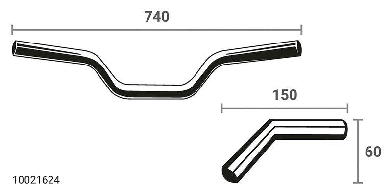 LSL X-BAR LENKER AXN1