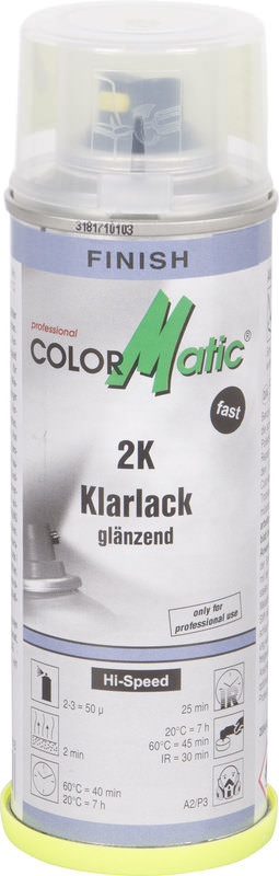 COLORMATIC 2-K CLEAR COAT