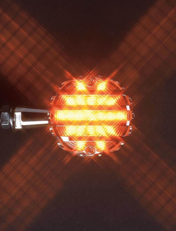 LED-BLINKER MIT GITTER