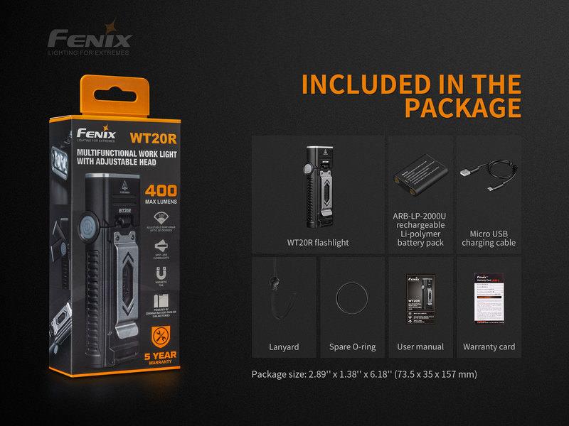 FENIX LED FLASHLIGHT
