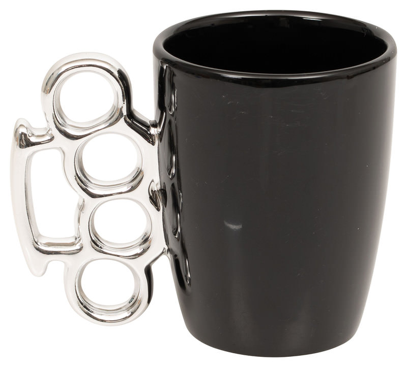 *KNUCKLE-DUSTER* MUG