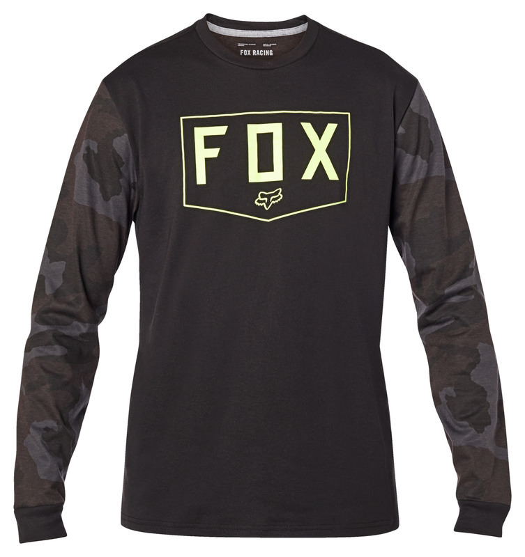 FOX SHIELD LS TECH TEE