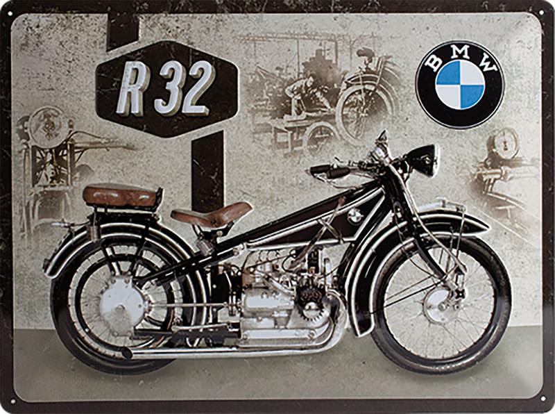 BLECHSCHILD *BMW R32*