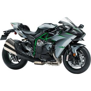 Kawasaki Hoodie Racing Ninja Motorcycles Black Front /& Back